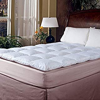 Blue Ridge Home Fashions Classic 233 Thread Count Cotton Featherbed, King