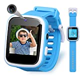 Vakzovy Kids Smart Watch Toys for 3-10 Year Old Boys HD Touchscreen Toddler Watch with Dual Camera, Music Player, Game Educational Toy USB Charging Birthday Gifts for Boys Ages 5 6 7 8