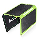 MOOLSUN Portable Solar Charger 24W Solar Panel Charger with 3 USB Output Ports ETFE Foldable Camping Travel Charger for Tablet Ipad iPhone and More