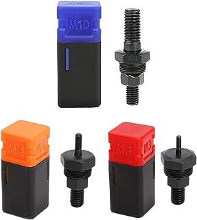 multicolor Kit de herramientas para remaches de mano M3 1 1 pieza de repuesto para mandril y nariz