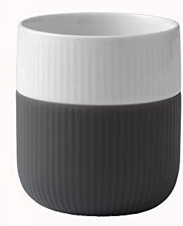Royal Copenhagen Fluted Contrast Mug, Anthracite