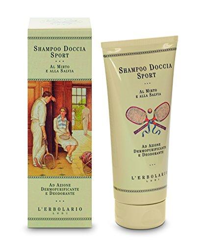 L'Erbolario Sport doccia di shampoo con Mirto e salvia - 200ml