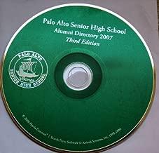 Palo Alto Sr. High School Alumni Directory 2007 on CD [Third Edition]