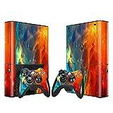 SKINOWN Cosmic Nebular Skin Sticker für Xbox 360 E Konsole und Fernbedienungen