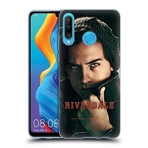 Head Case Designs Offizielle Riverdale Jughead Jones 4 Posters Soft Gel Huelle kompatibel mit Huawei P30 Lite/Nova 4e