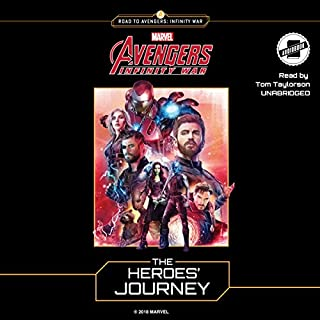 Marvel's Avengers: Infinity War: The Heroes' Journey audiobook cover art