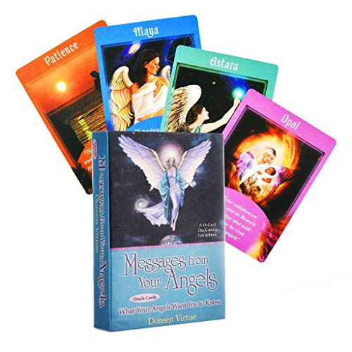 Haorw Messages Angels Tarot 44st Cartes Oracle Tarot Family Party Bordspel