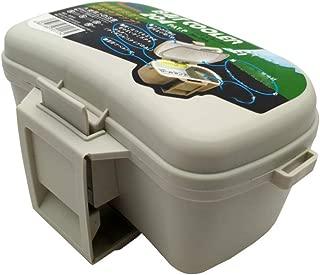 Señuelo Caja De Pesca Grande Impermeable del Bolso De Los Trastos De Almacenamiento Durable De Plástico Duro con Los Cierres Artes De Pesca Equipo 1PC