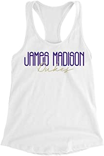 Official NCAA James Madison University Dukes - 19JMU035 Womens Racerback Tank Top