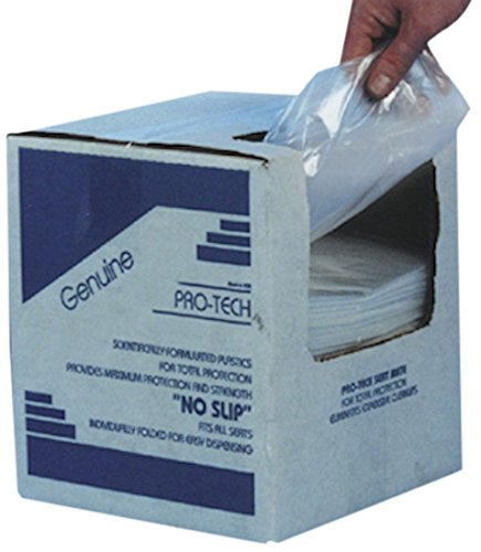Automotive Interior Protection 10-004-250PK Seat-Mate Disposable Plastic Seat Cover, (Case of 250