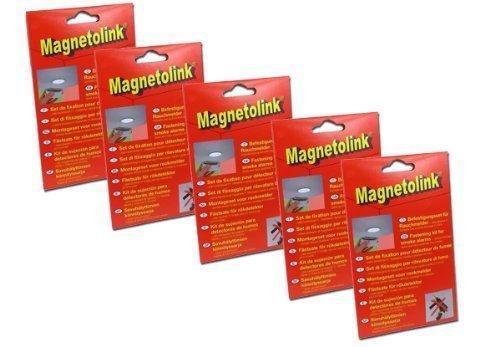 GEV Magnetolink voor rookmelder, set van 5 A 2 - Pack