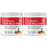 Okinawa Flat Belly Tonic Powder Drink Japan Supplement Reviews (2 Pack)