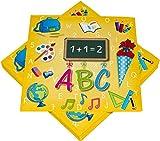 Kids Party World 60 Servietten zum Schulanfang und Einschulung