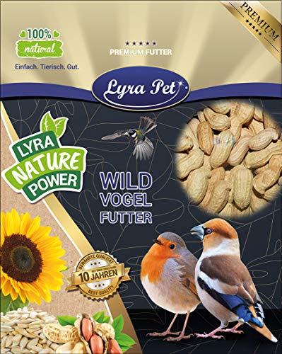 Lyra Pet® 10 kg Erdnusskerne 10000 g in Schale Schote ungeschält Vogelfutter Eichhörnchen