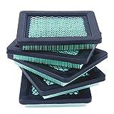 Cuasting 17211-Zl8-023 Lot de 5 filtres à air compatibles avec Gcv160 Gcv190, 7021P, tondeuse à gazon Premium