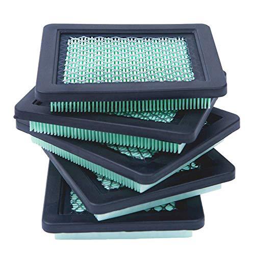 PQZATX Pack de 5 Filtres à Air 17211-Zl8-023, Compatibles avec Gcv160 Gcv190, pour 7021P, Filtre à Air Premium pour Tondeuse à Gazon