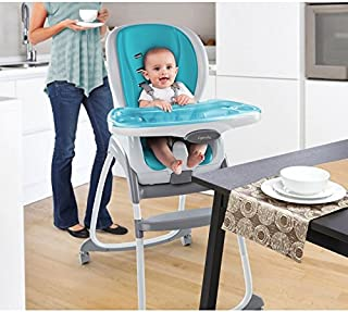 Ingenuity 60279 Asiento 2-en-1 para beb/é y trona port/átil aguamarina
