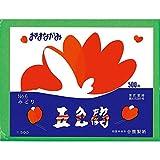 合鹿製紙 お花紙 五色鶴 500枚 みどり No.6
