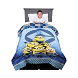 Kitchen Designers Franco Kids Bedding Comforter, Twin/Full Size 72' x 86', Minions