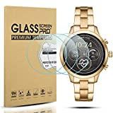 Diruite 3-Pack for Michael Kors Access Runway Screen Protector, 2.5D 9H Hardness Tempered Glass Screen Protector for MK Runway MKT5045 / 5048 Smartwatch