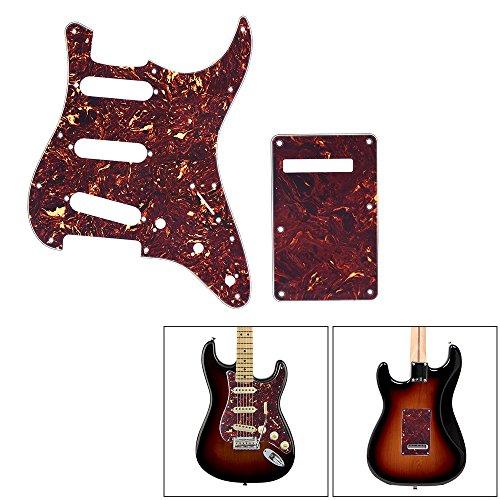 ammoon Tortuga de la Guitarra Roja Golpeador Volver Placa con ...