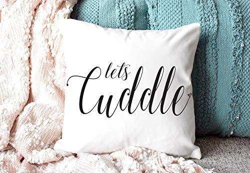 Blafitance, federa per cuscino per festa della mamma, 45 x 45 cm, federa decorativa per cuscino per matrimoni, regalo di inaugurazione della casa, in tela, decorazione quadrata