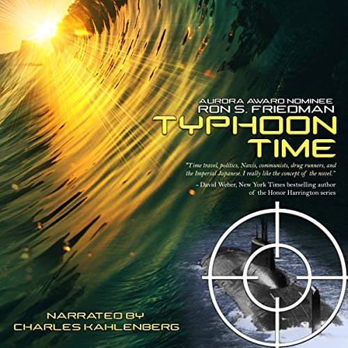 Typhoon Time audiobook cover art