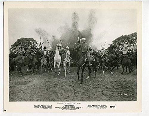 MOVIE PHOTO: TARAS BULBA-8x10-PROMO STILL-TONY CURTIS-ADVENTURE-ACTION-DRAMA-VG/FN-1962 FN/VF