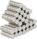 Wukong 105 Pack Magneti per Frigorifero, Calamite per Lavagna, Forte Presa Magnetica,6mm X...