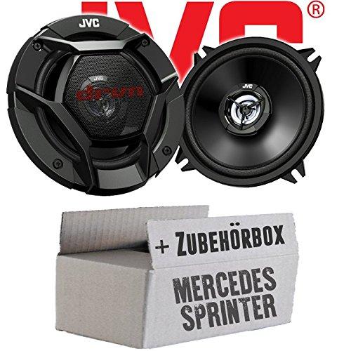 JVC CS-DR520-13cm 2-Wege Koax-Lautsprecher - Einbauset für Mercedes Sprinter W906 Front - JUST SOUND best choice for caraudio
