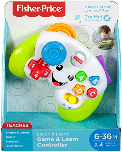 Fisher-Price Laugh & Learn Game & Learn Controller, Multicolor