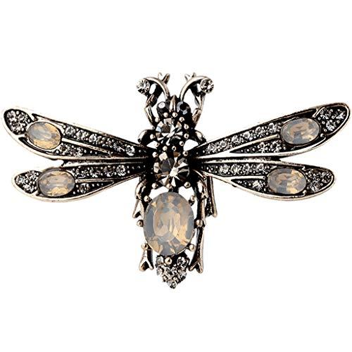 LSJT Broche Vrouwelijke Broche Corsage Vrouwelijke Ing Bee Pin Mode Retro Temperament Vest Knop Pin Eenvoudige Geslacht Pin Jas Vest Knop
