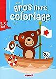 Mon gros livre de coloriage - Ours 3-5 ans