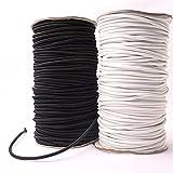 4mm x 10Meter Robustes Seil Elastic Bungee Shock Cord Tie Down selbstgemachten Schmuck weiß