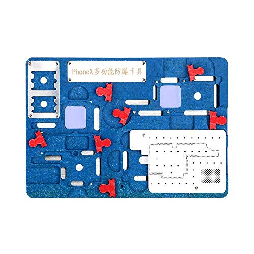 YO-TOKU PCB Fixture Logic Board Clamps BGA Repair Tool A11 Moederbord IC Chip Bal Solderen Net Planting Tin Fixture Houder Fit voor iPhone X Tool Brackets Hardware