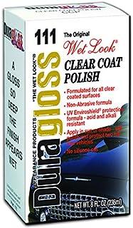 Duragloss 111 Automotive Clear Coat Polish - 8 oz.