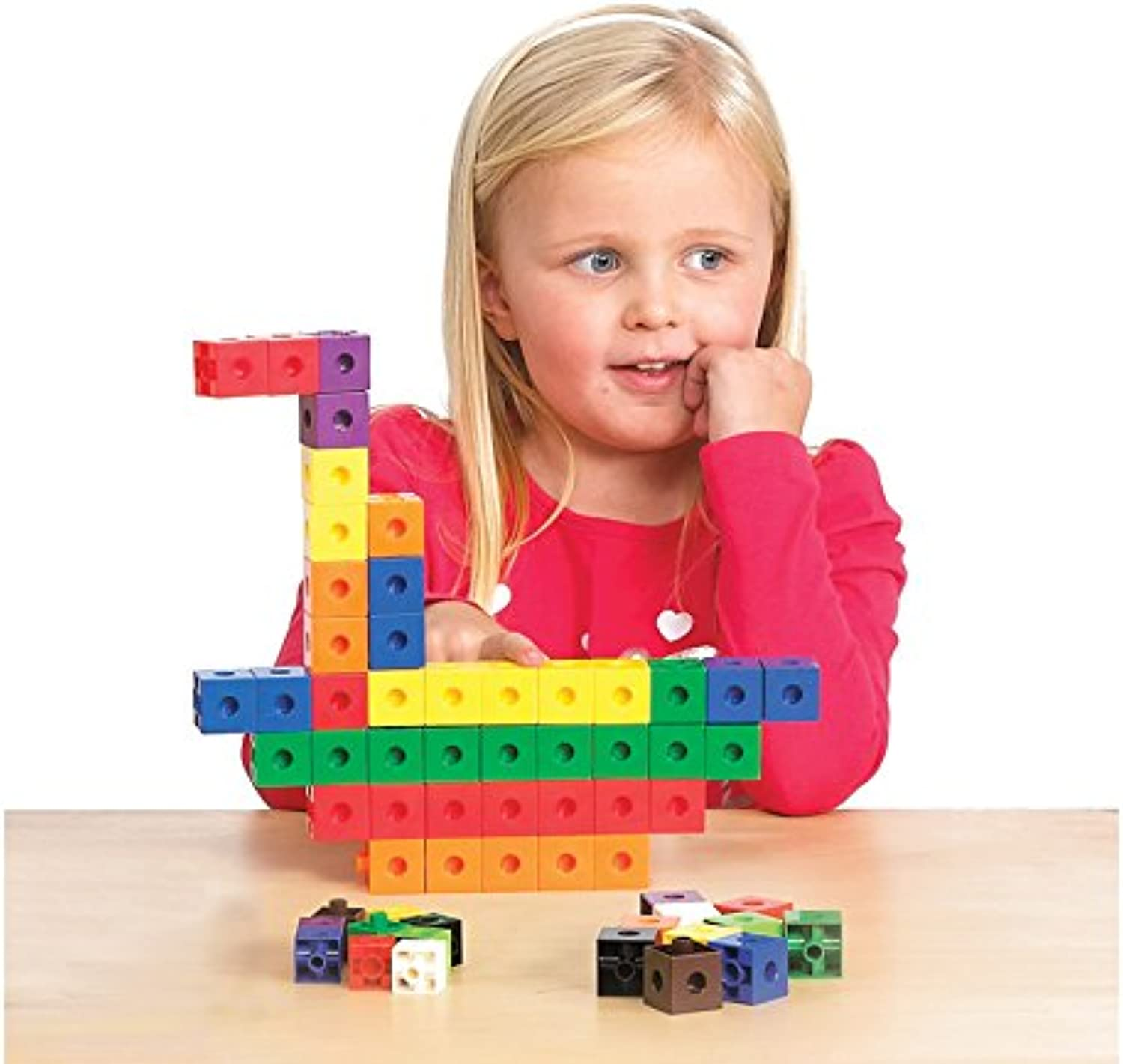 Didax Educational Resources 50 Piece 1  Measurement Linking Cubes