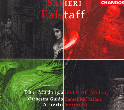 Falstaff: Act I Scene 1: Introduction: Viva il comune amico (Falstaff, Mrs. Ford, Mrs. Slender, Slender, Guests)