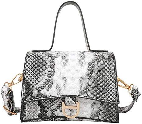 schoudertassen voor vrouwen Vrouwen Snake Patroon Handtassen Vintage Mini Tophandvat Crossbody Schoudertas