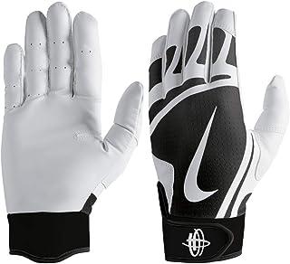 detailed pictures 9633e 549bf Nike Huarache Edge Gants de Frappe pour Homme Blanc Noir Taille XL