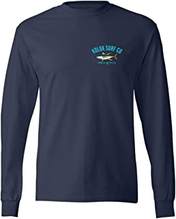 Koloa Surf Long Sleeve Heavyweight Cotton T-Shirts in Regular, Big and Tall