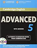 Cambridge English Advanced 5 Self-study Pack (Student's Book with Answers and Audio CDs...