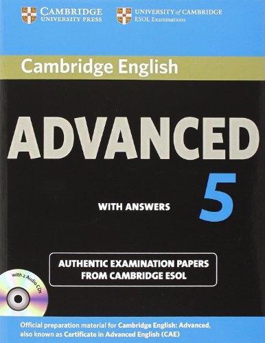 Cambridge English Advanced 5 Self-study Pack (Student