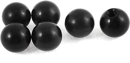 6Stk M8 Gewindeloch 35mm Durchmesser Kunststoff Kugel Knopf Griff de