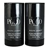 Ralph Lauren Polo Black Alcohol Free Deodorant Stick, 2 Count