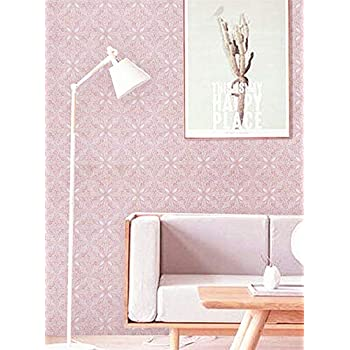 Pink Wallpaper Pink Wall Contact Paper Pink Peel And Stick Wallpaper Removable Pink Paper Girl Flower Wallpaper Wall Covering Self Adhesive Wallpaper Shelf Drawer Liner Vinyl Decal Roll17 7 X78 7 Amazon Com