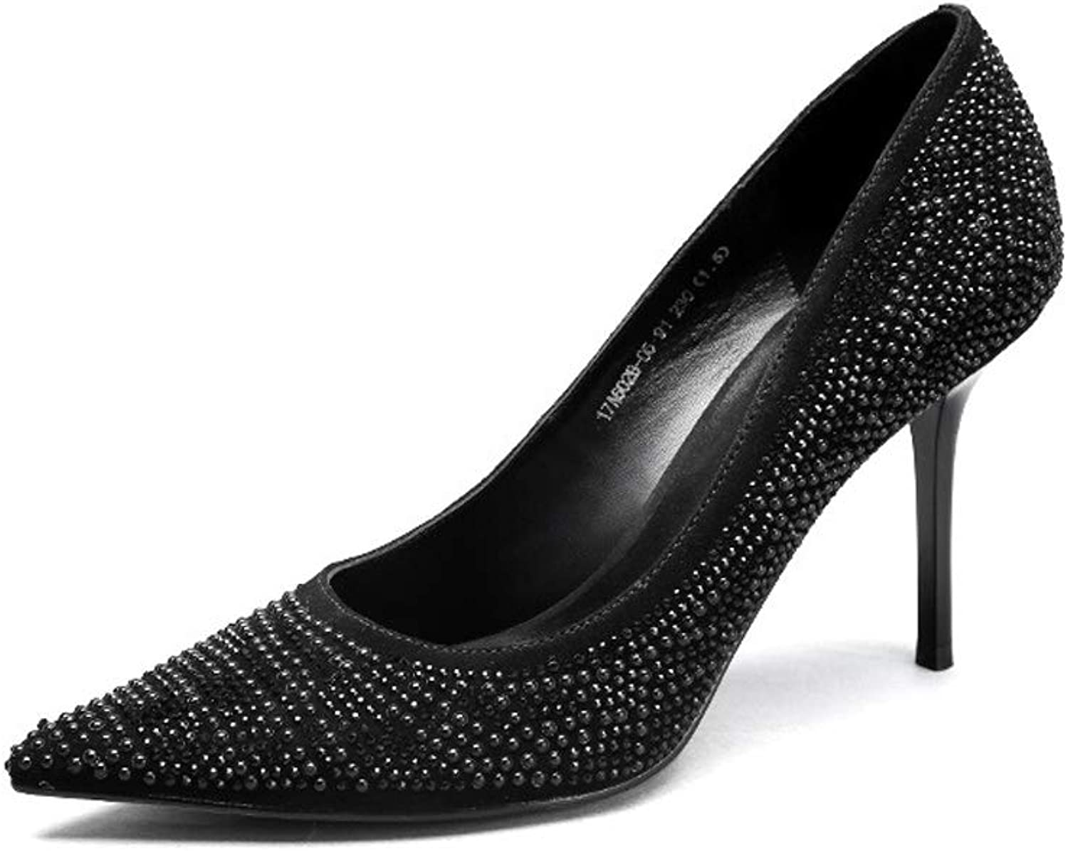 Pearl face Pointed Female high Heels, Stiletto Shallow Mouth Sexy Fashion Women's shoes
