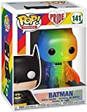 Show your support and pride with this special edition rainbow collectible of Pop! Batman! Collectible stands 3.75-inches tall. The Pride Pop! collection is a celebration of inclusivity and acceptance. Funko supports the LGBTQ+ community and rejects i...