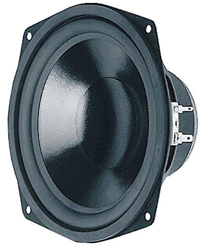 Visaton VS-WS17E/4 - Lautsprecher (Verkabelt, 60 W, 4 Ohm, Schwarz)