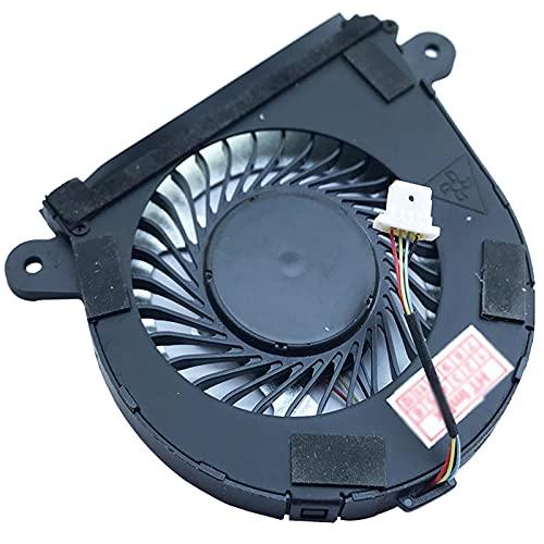 (Versión Derecha) ventilador ventilador FAN cooler compatible para Lenovo Yoga 710-14IKB (80V40036RA), 710-14IKB (80V4006FGE), 710-14IKB (80V4003ARA), 710-14IKB (80V4006GGE), 710-14ISK (80TY000QGE), 710-14ISK (80TY000TGE)